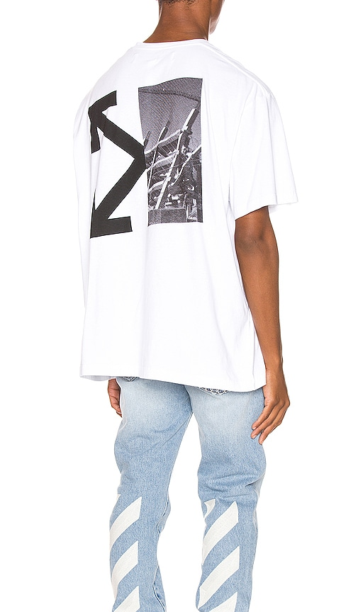 Splitted Arrows Oversized Tee