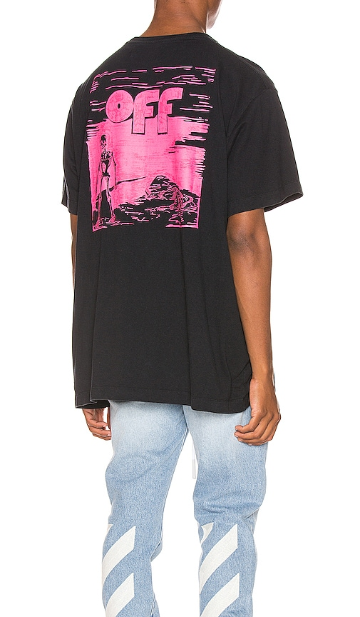 Skulls Floating Oversized Tee