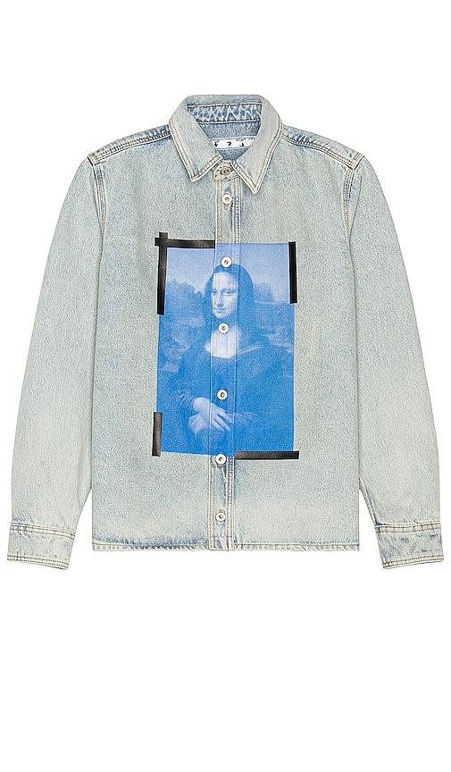 OFF-WHITE MONA LISA シャツ