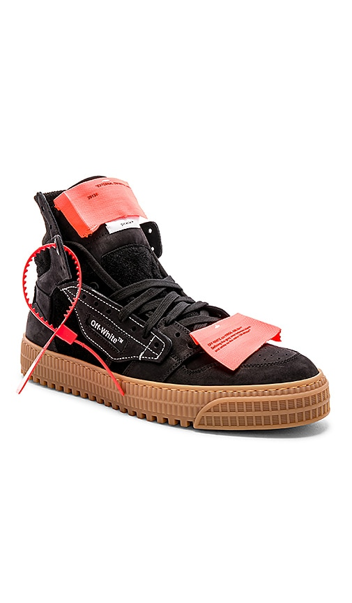 OFF-WHITE Off Court Suede Sneakers in
