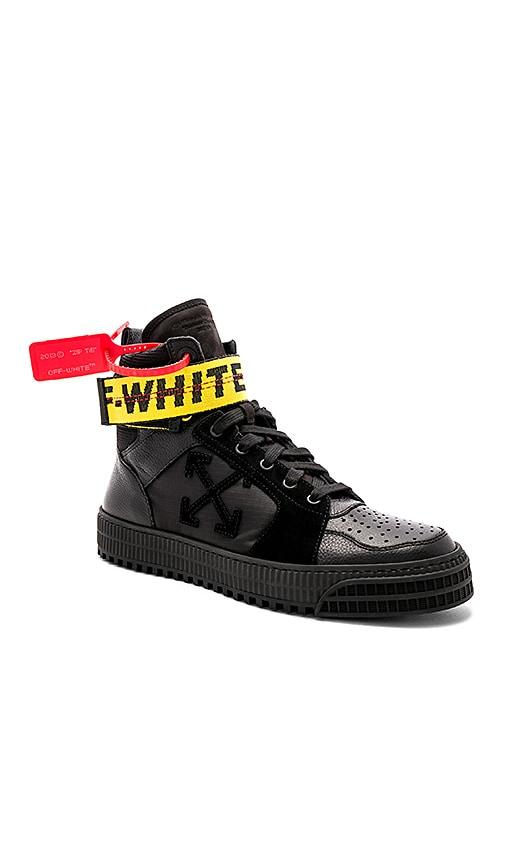 OFF-WHITE Industrial Hi-Top Sneakers in
