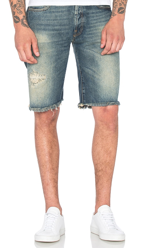 OFF-WHITE 5 Pocket Shorts in Vintage Wash