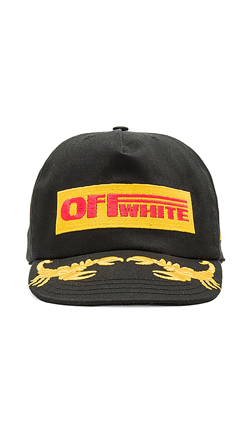 OFF-WHITE Off 1st Cap in Black