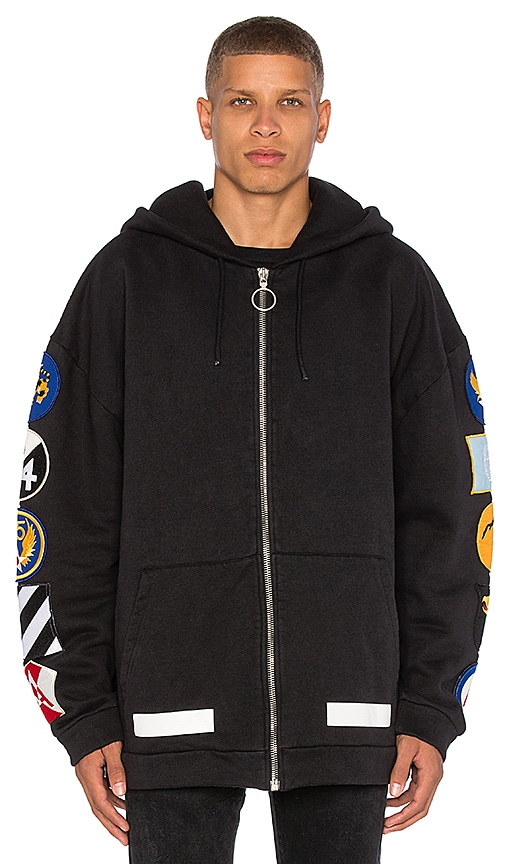 Hoodie With Patches