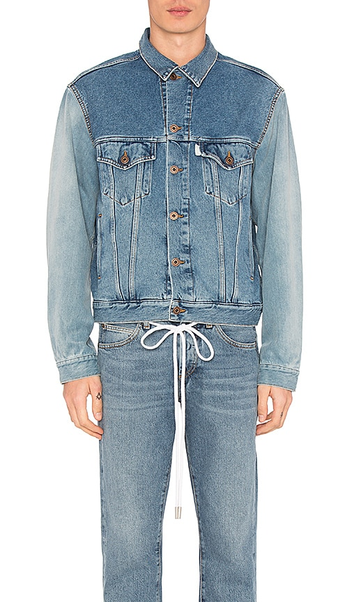 OFF-WHITE Denim Jacket in Multicolor