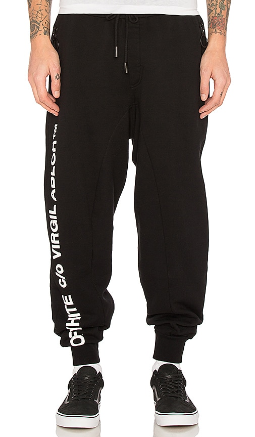 OFF-WHITE C/O Virgil Abloh Pants in Black