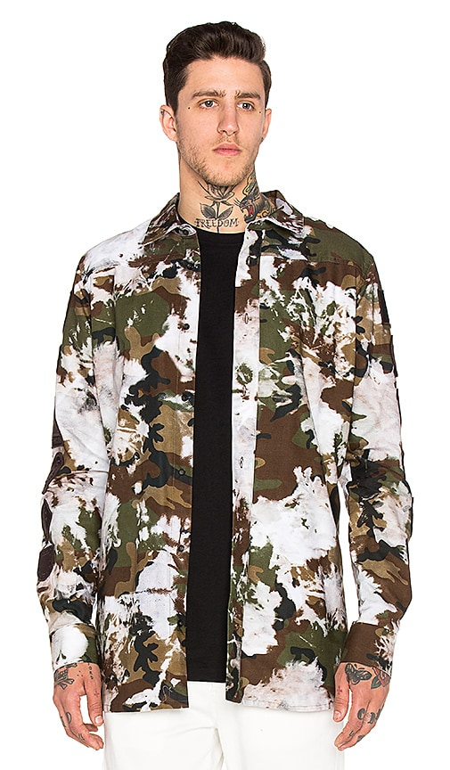 OFF-WHITE Oxford Shirt in All Over B