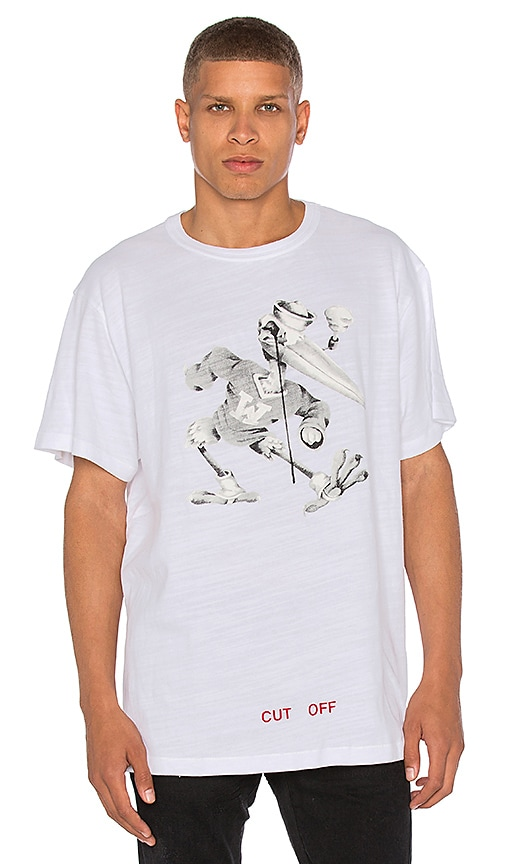 OFF-WHITE Othelo's Stork Tee in White