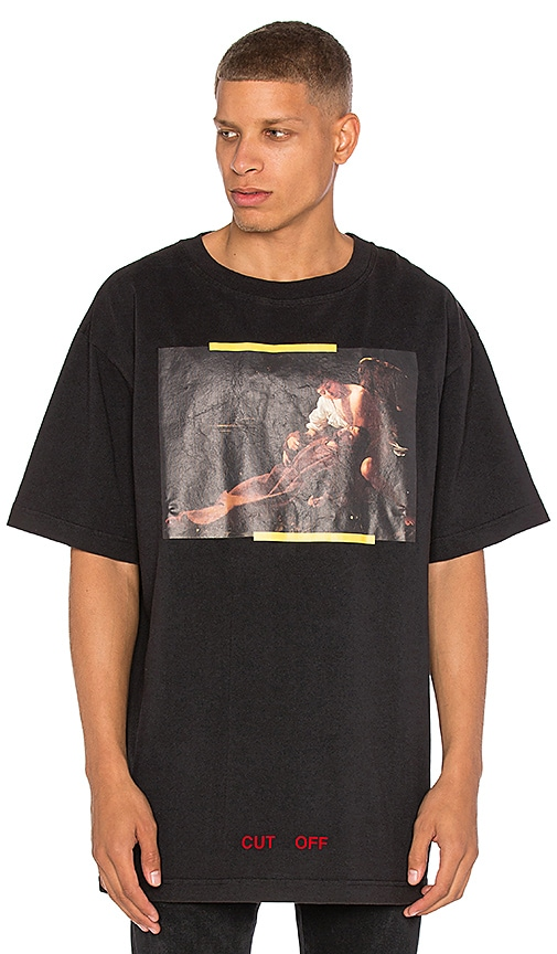 OFF-WHITE S. Francesco Tee in Black