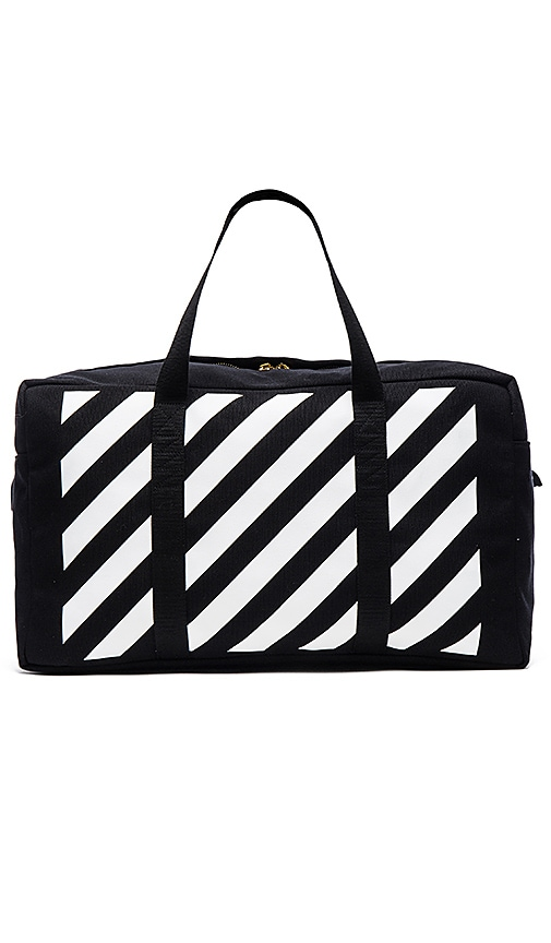 OFF-WHITE Duffle Bag in Black