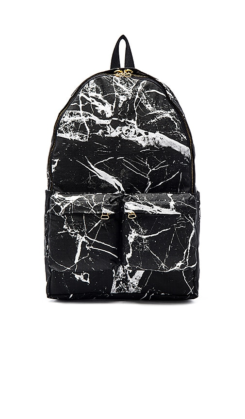 off white sac dos en black marble all over white revolve. Black Bedroom Furniture Sets. Home Design Ideas