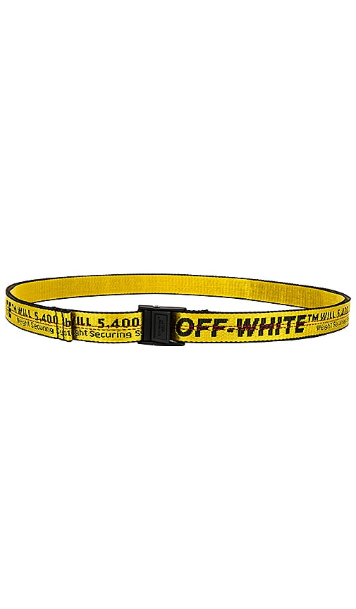Outfit Off White Belt