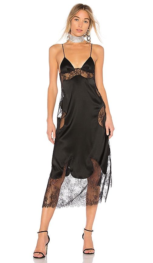 OFF-WHITE Lingerie Dress in Black