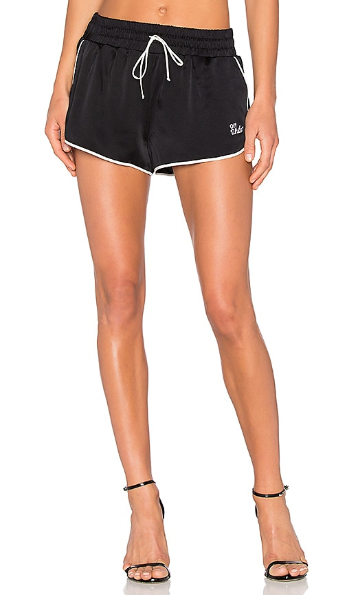 OFF-WHITE Pajama Shorts in Black