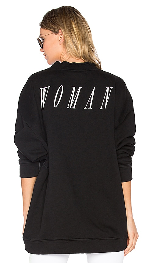 OFF-WHITE Something Special Crewneck Sweatshirt in Black