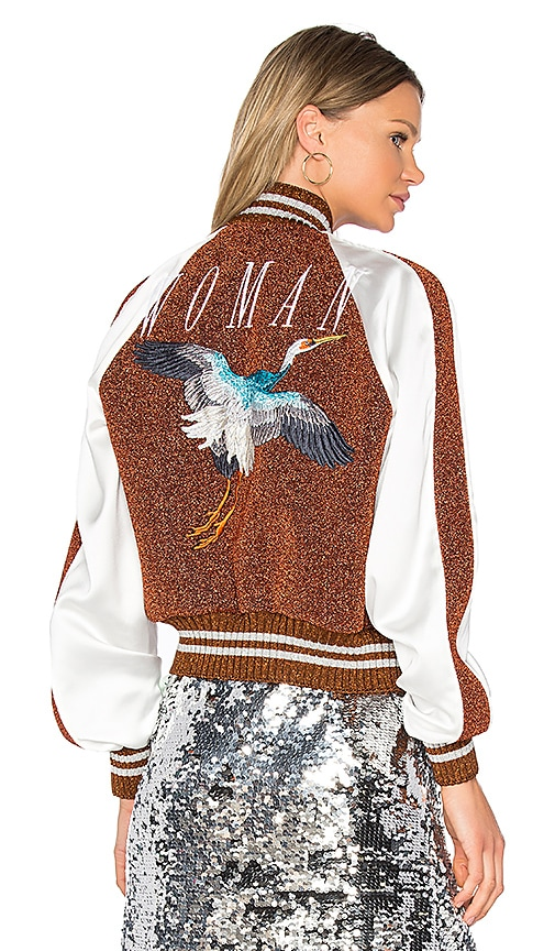 OFF-WHITE Souvenir Jacket in Brown