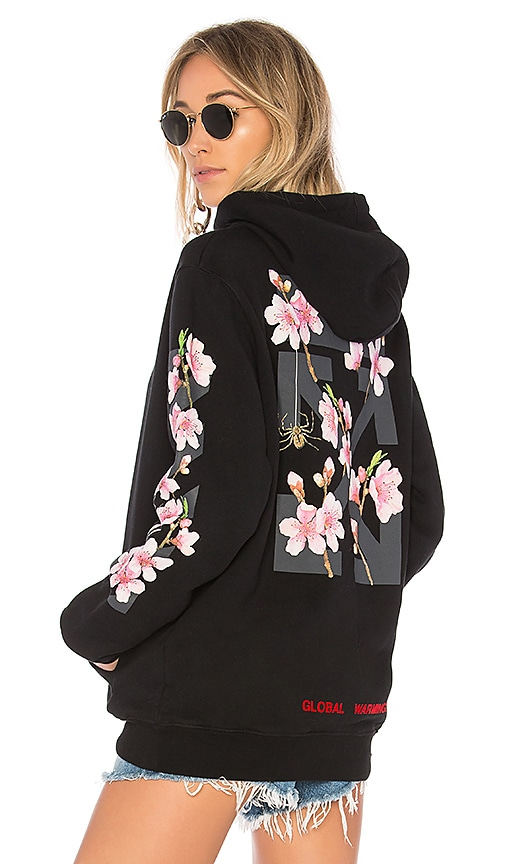 OFF-WHITE Cherry Hoodie in Black