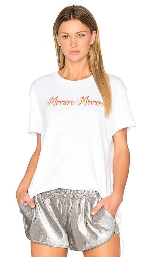 OFF-WHITE Mirror Mirror Tee in White