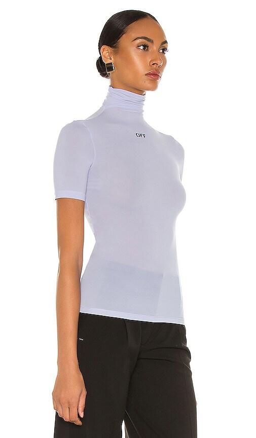 OFF-WHITE Clothing SHORT SLEEVE BASIC TURTLENECK