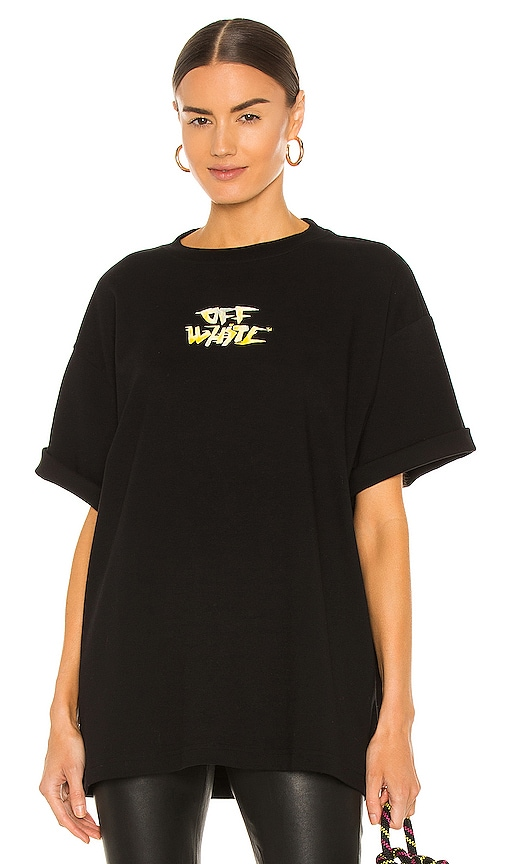 Off-White WATERCOLOR TYPE TOMBOY TEE