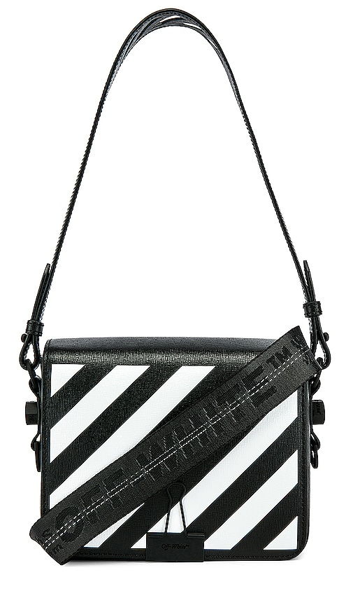 Diagonal Flap Bag