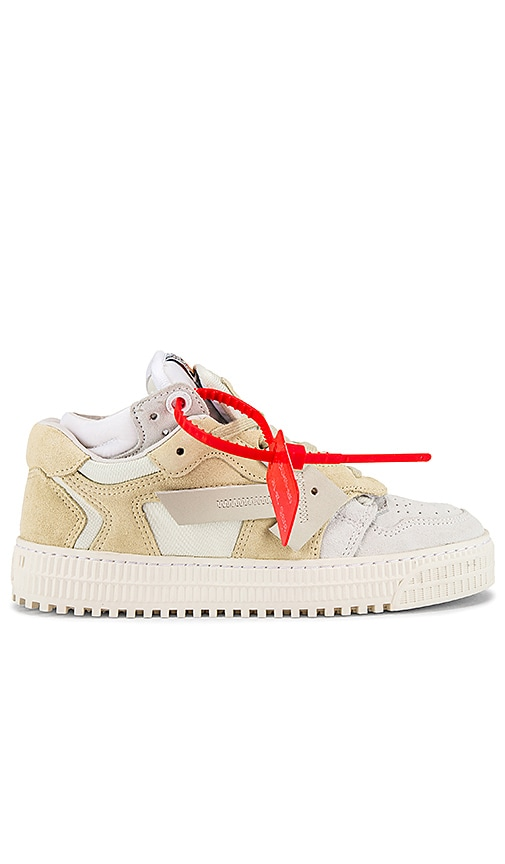 OFF-WHITE 4.0 Sneaker in Beige Medium