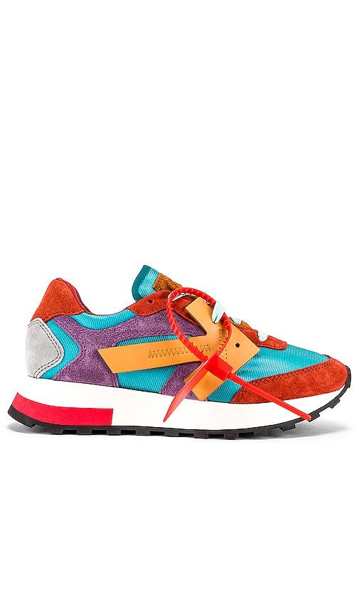 OFF-WHITE HG Runner Sneaker in Orange