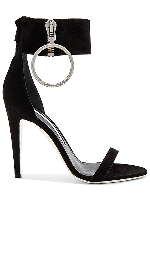Zipped High Sandal Heel