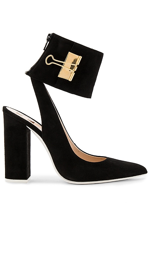 OFF-WHITE Pump Big Heel in Black