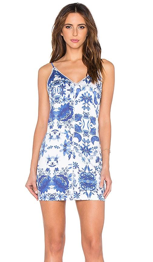 OH, BOY! Vestido Dress in Blue