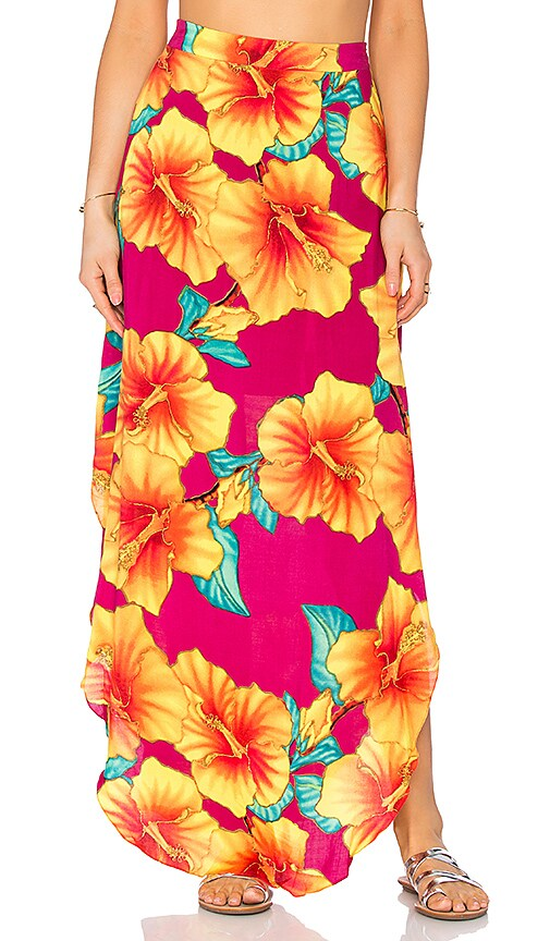 OH, BOY! Sia Concha Maui Skirt in Pink