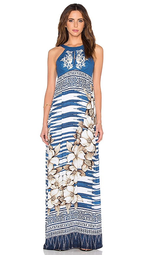 OH, BOY! Maxi Dress in Blue
