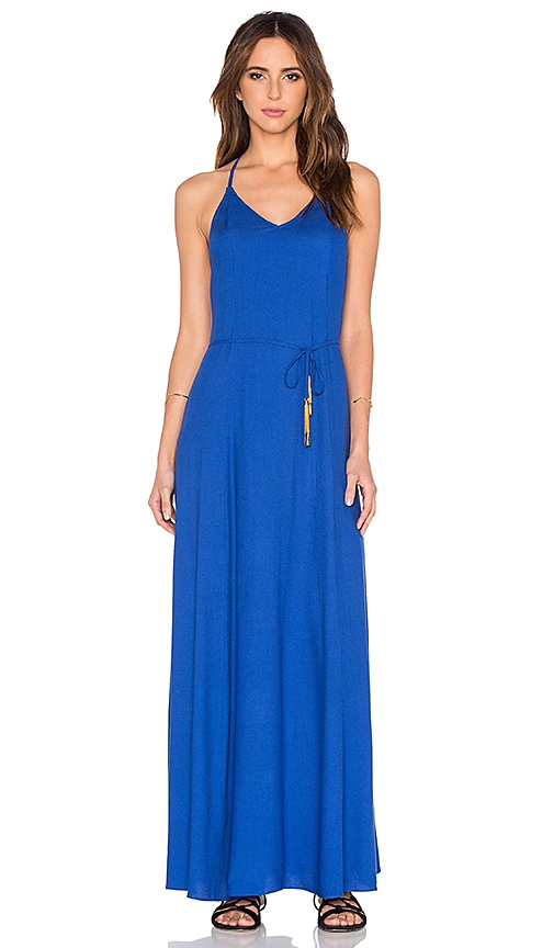 OH, BOY! Vestido Maxi Dress in Blue