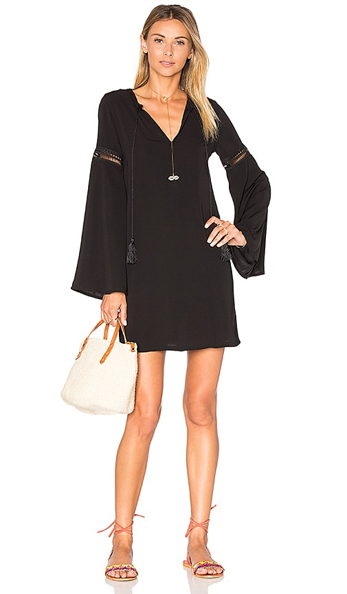Tassel Tie Front Dress
