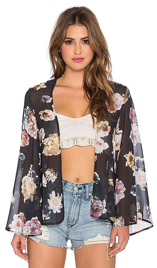 She Loves Floral Kimono