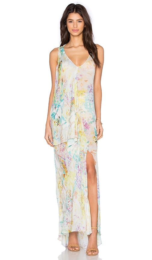 ST by OLCAY GULSEN Botanic Print Maxi Dress in Botanic Print