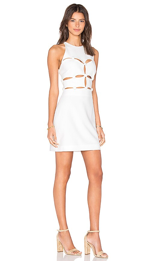 58dd3f3b7d8 on sale OLCAY GULSEN Peekaboo Dress in Off White - huattiong.com