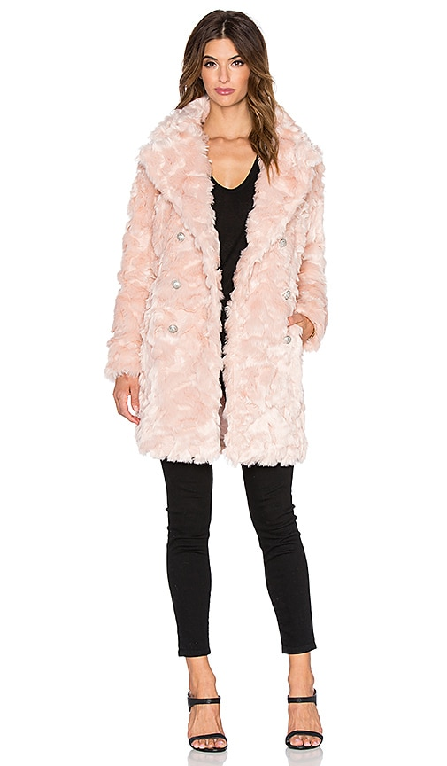 Offspring Faux Fur Coat