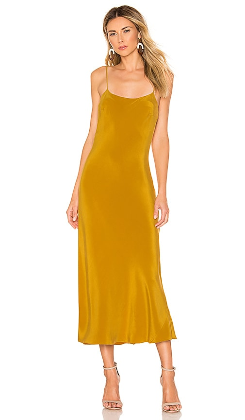 Artemis Silk Midi Slip Dress