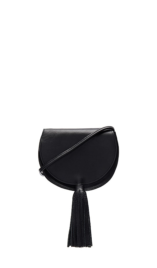 Oliveve Mallory Saddle Bag in Black