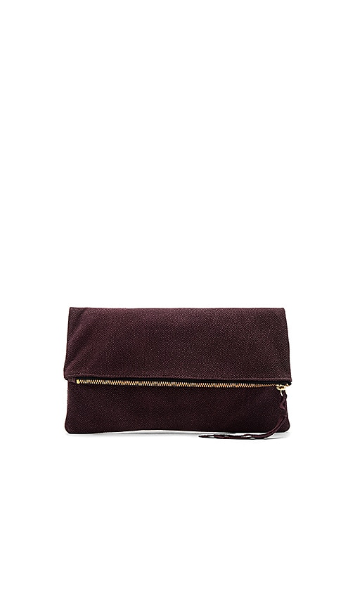 Oliveve Anastasia Clutch in Wine