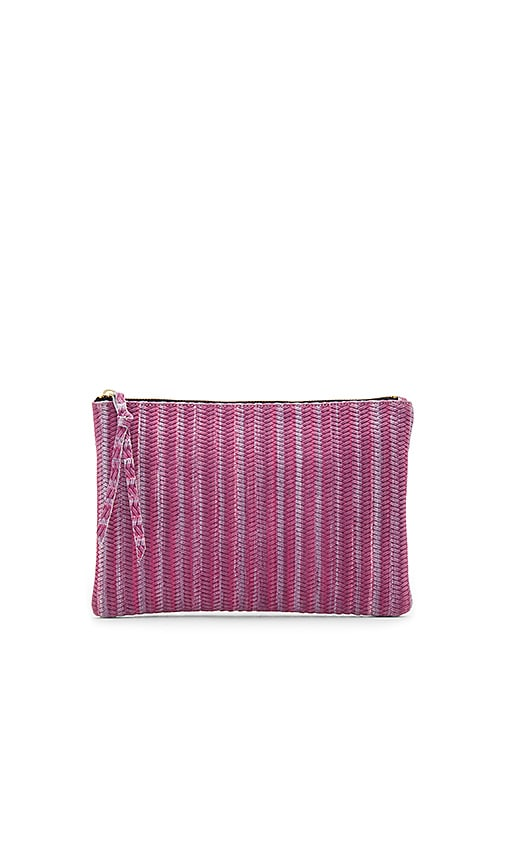 Oliveve Queenie Clutch in Purple