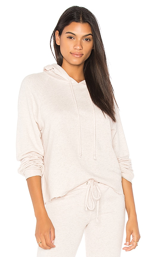 Olympia Theodora Copper Hoodie in Pink