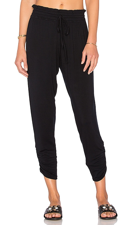 Olympia Theodora Bella Pant in Black