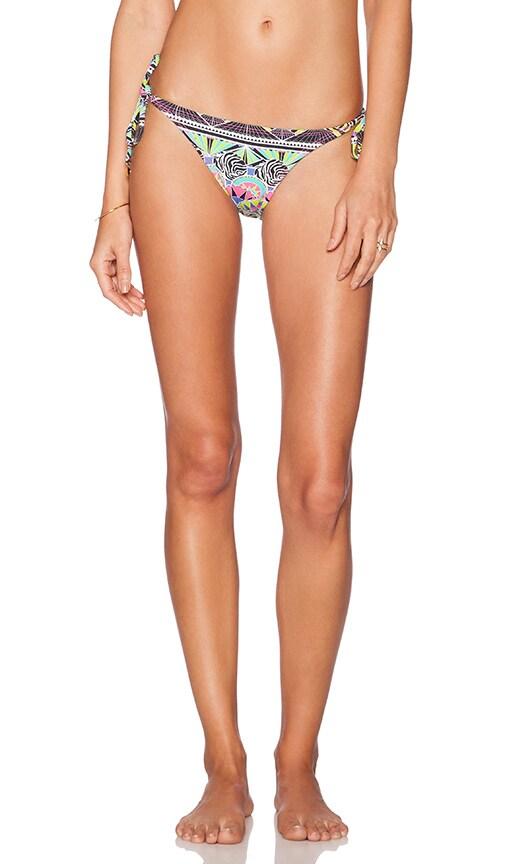OndadeMar Tie Side Bikini Bottom in Zenega