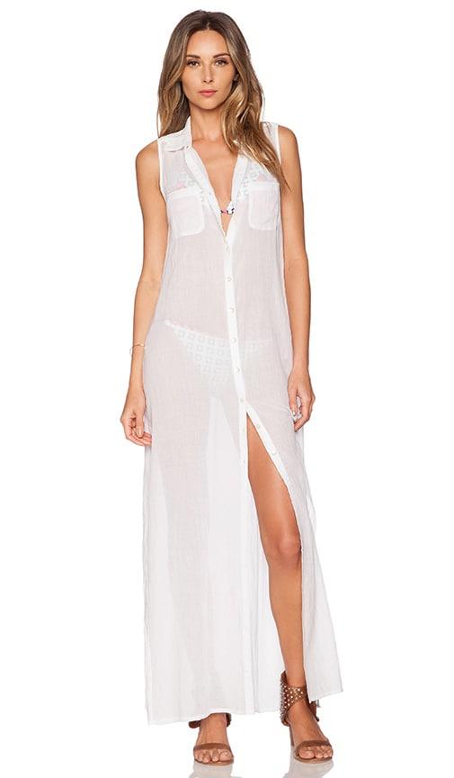 OndadeMar Maxi Dress in White Boheme