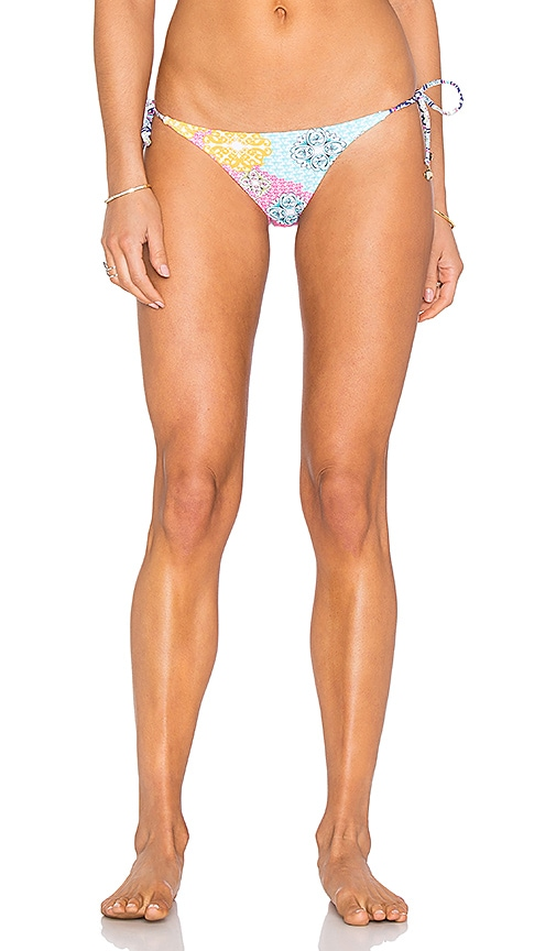 Side Tie Ruffle Bikini Bottom