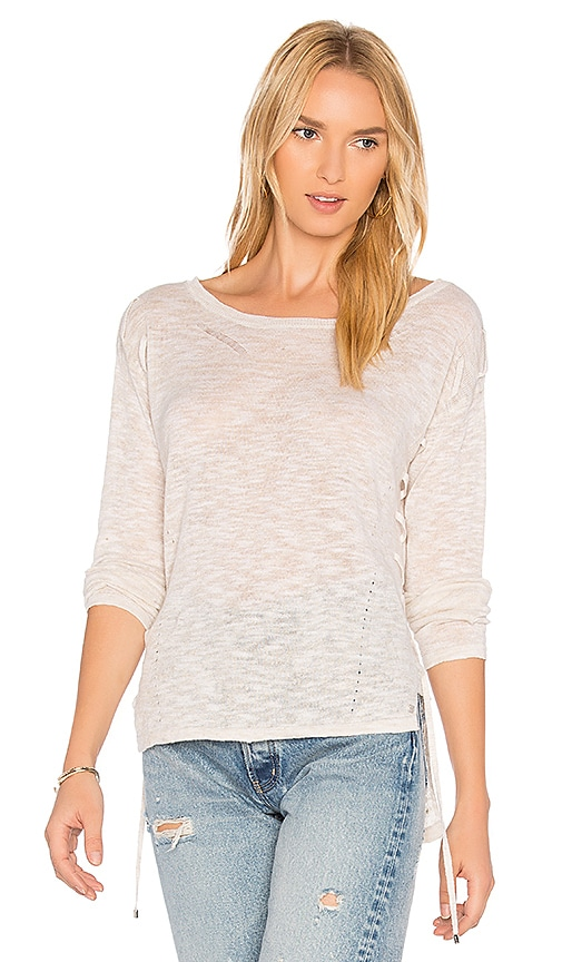 One Grey Day Alexis Sweater in Beige