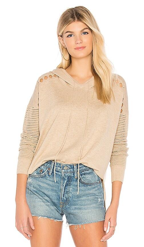 One Grey Day Kora Hoodie Sweater in Tan