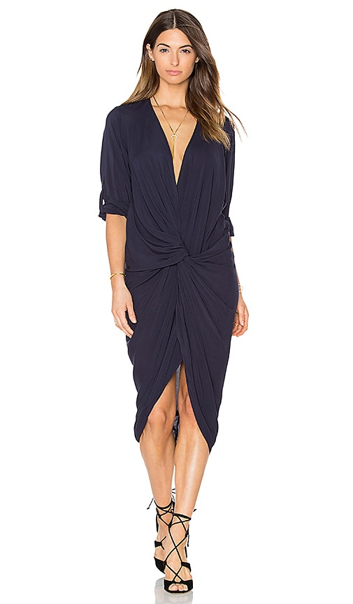 One Fell Swoop Elana Shirt Dress in Navy